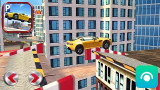 Roof Jumping Stunt Driving Parking Simulator - Gameplay Trailer (iOS, Android)