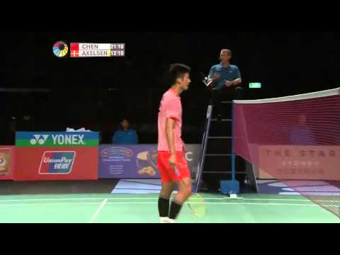 Badminton 2015 | Chen Long vs Viktor Axelsen