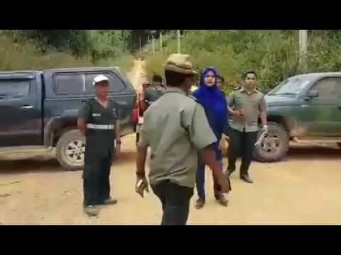 Pejabat Perhutanan buat Blockade di Tanah wilayah Adat Pos Simpor