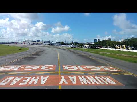 pouso em recife aeroporto guararapes pista 18
