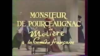 Monsieur de Pourceaugnac (Molière) , Comédie Française, 1987 1988 mes Pierre Mondy, Chor Jean Moussy
