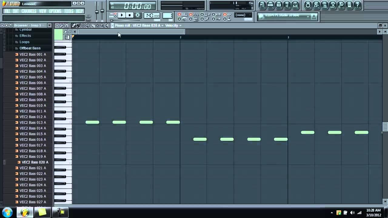 FL Studio: Stretching the Vengeance Samples - YouTube