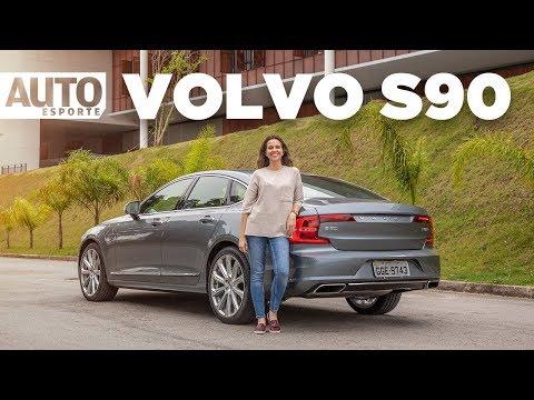 Volvo S90: sedã híbrido aposta em luxo e potência para combater os rivais alemães