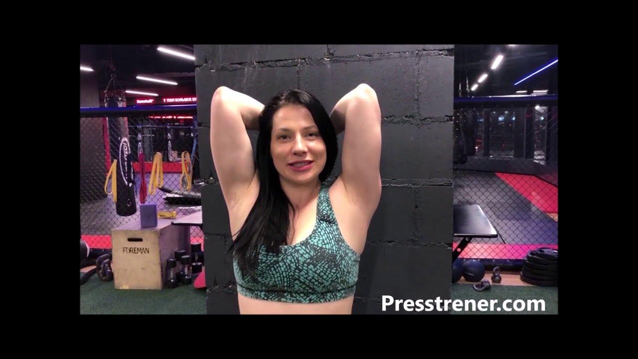 Упражнения на мышцы рук с гантелями на бицепс, трицепс ...