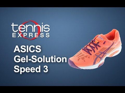 asics gel solution speed 3 tennis point youtube