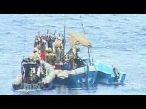Navy blasts pirate boat