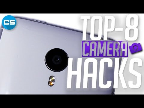 TOP 8 SMARTPHONE CAMERA HACKS.