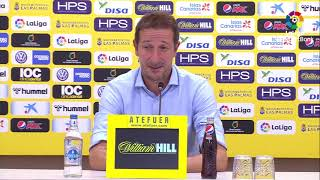 Rueda de prensa de  Ramis tras el UD Las Palmas vs Albacaete BP (3-2)