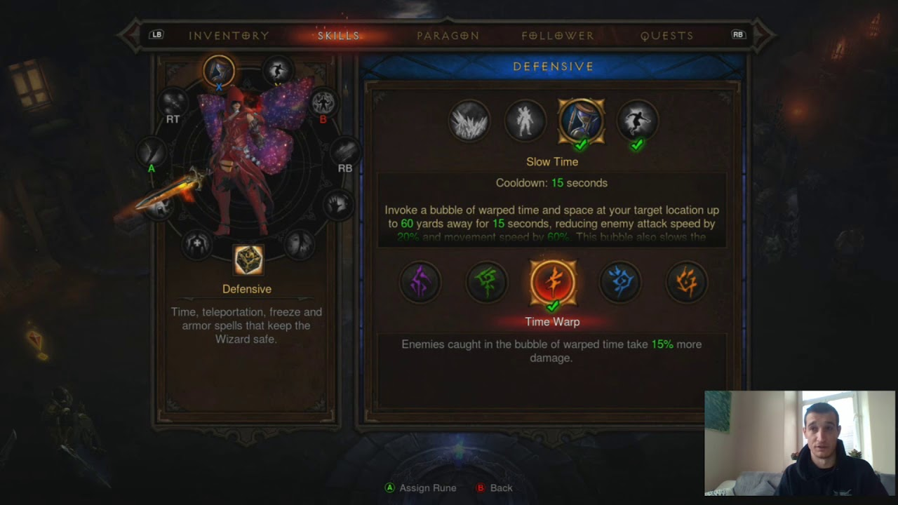 D3/XB1 GR 110++ Twisted Wizard Build Guide 2 6 1 PT 1
