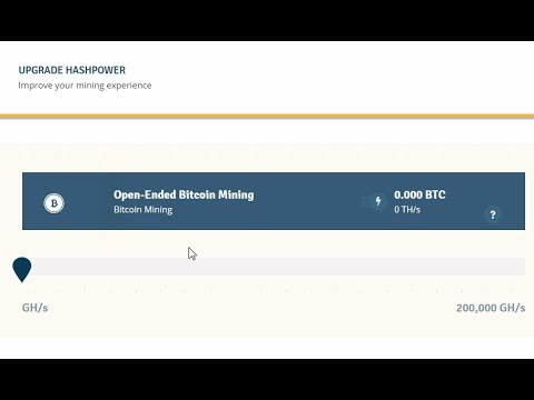 2017 Genesis Mining / sha256 BITCOIN is back - Upgrade !