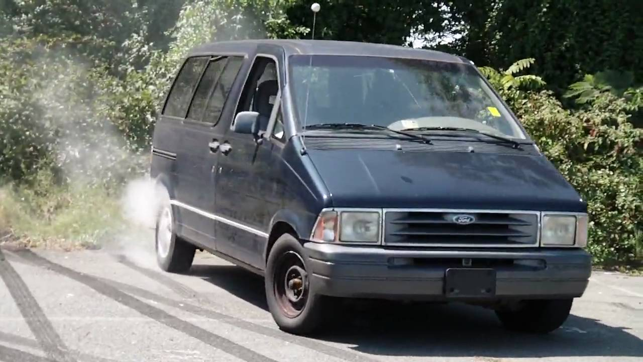 cash for clunkers ford aerostar youtube