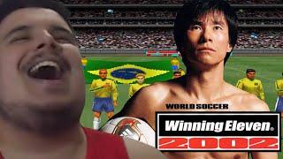 O MELHOR JOGO DE FUTEBOL DE TODOS OS TEMPOS! - WINNING ELEVEN 2002