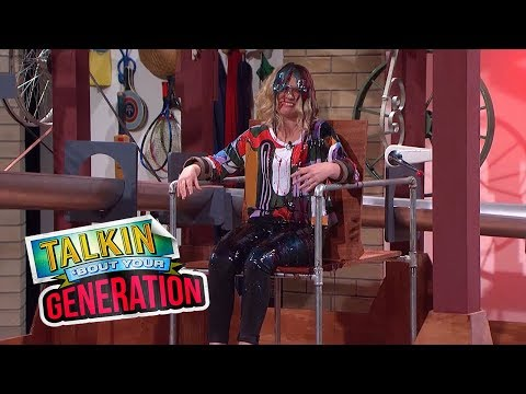 Andy volunteers Kate to sit on the 'Chair of Fear' | Talkin' 'Bout Your Generation