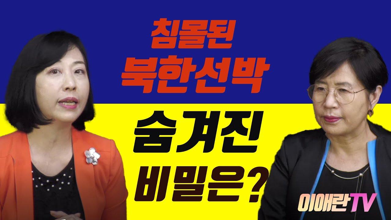 해상에서 침몰된 수상한 북한선박의 비밀(와타나베 교수)