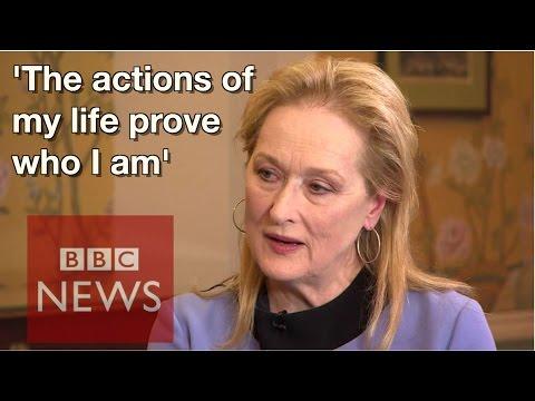 Is Meryl Streep a feminist? BBC News