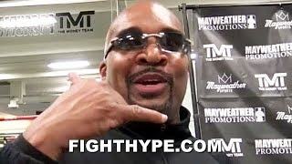 MAYWEATHER CEO ELLERBE ON CRAWFORD VS. KHAN PPV NUMBERS; SAYS HEAD-TO-HEAD FIGHT CARDS ARE GOOD