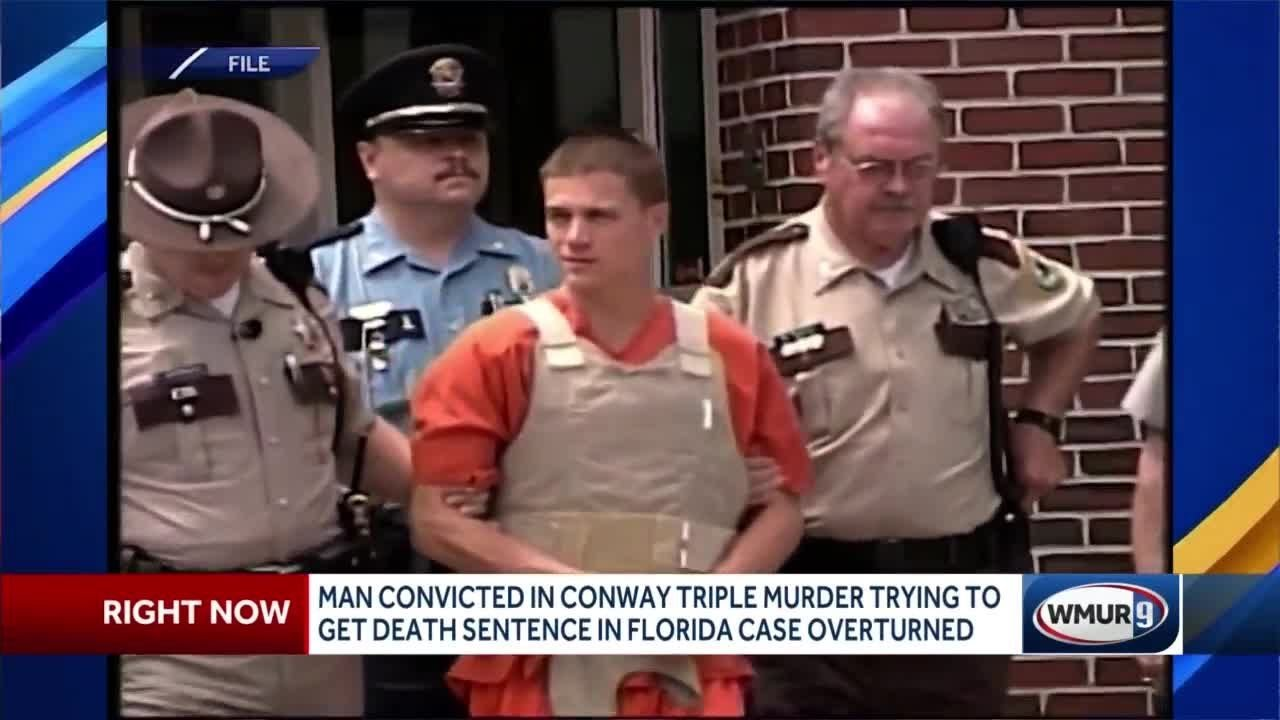Lawyers for man convicted of triple murder in Conway appeal Florida death sentence