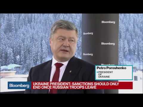 Ukraine's Poroshenko on Trump, Russia, IMF Tranche