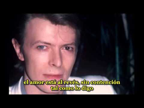 David Bowie - Because you're Young - subtitulado español