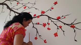 Wall Tree Drawing Ideas