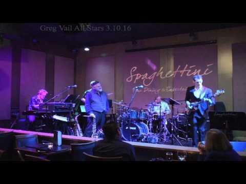 Uptown Funk - Greg Vail All Stars live at Spaghettini