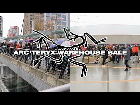 Arc'teryx Warehouse Sale (VLOG)