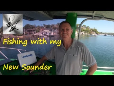 Fishing NEW Lowrance Sounder | Fishing & Cooking