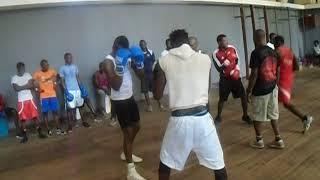 Babanla Boxing Management Training Session