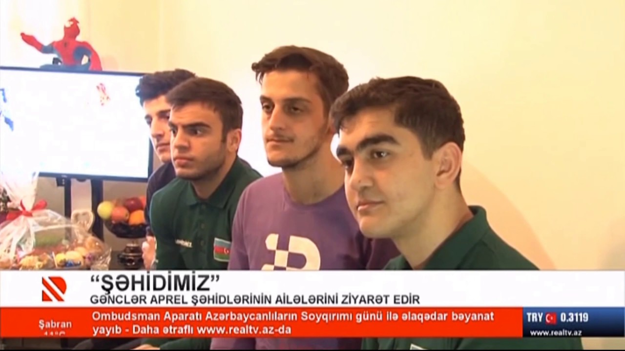 Raquf Orucovun oğlu şəhid ailələri ilə həmrəylik kampaniyasına start verib