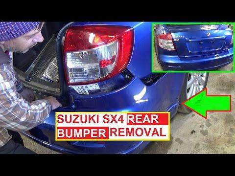 Rear Bumper Removal and Replacement SUZUKI SX4 FIAT SEDICI 2006 2007 2008 2009 2010 2011 2012 2013