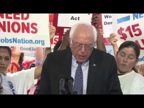 Sen. Sanders, Rep. Pocan Introduce the Workplace Democracy Act