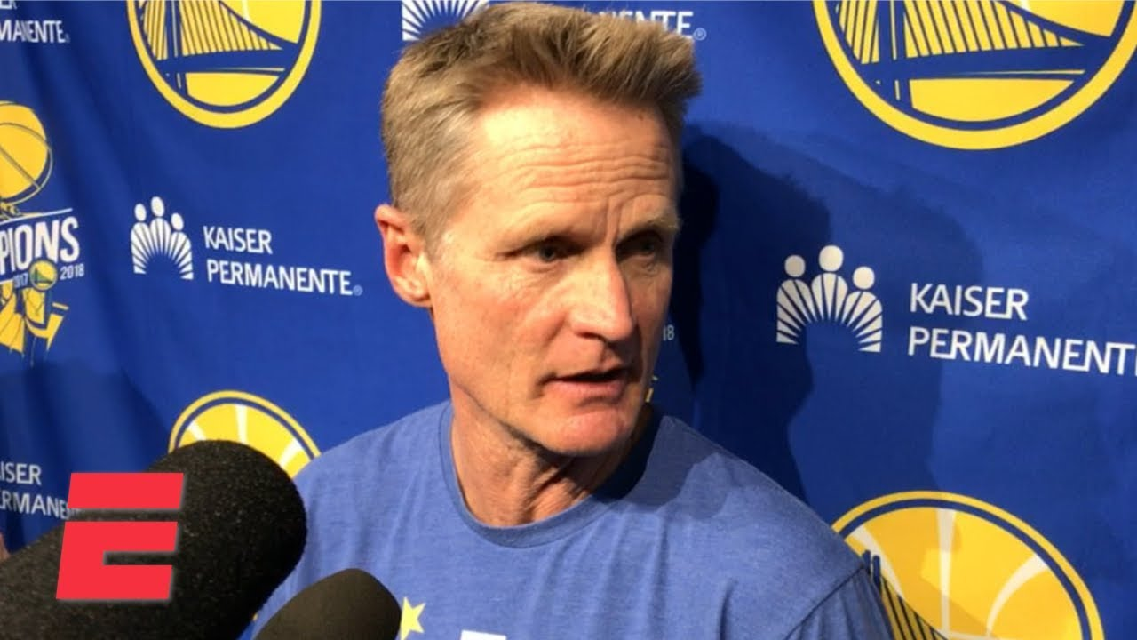 Steve Kerr 'shocked' by Draymond Green's flagrant foul call, which led to his ejectio