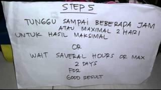 Cara Cuci Knalpot 2 Tak /How to clean Carbon 2 Str