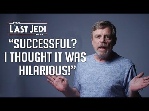 Mark Hamill on Star Wars The Last Jedi 🔥
