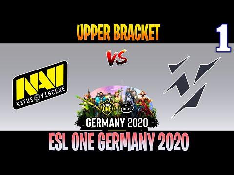 Navi Vs Vikin.gg Game 1 | Bo3 | Upper Bracket ESL ONE Germany 2020 | DOTA 2 LIVE
