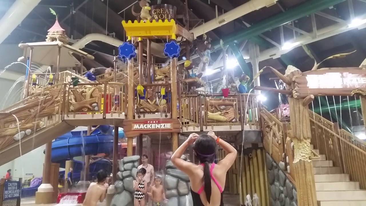 great wolf lodge bucket drop in garden grove california - Water Parks In Garden Grove