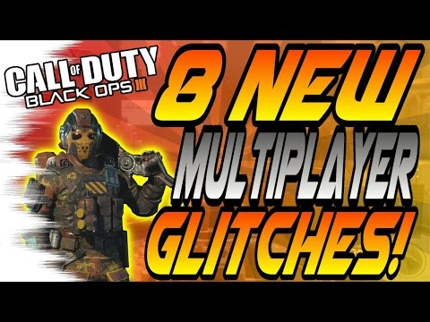 8 NEW Multiplayer Glitches! - Wallbreaches, High Ledges (Black Ops 3 Online Glitch)