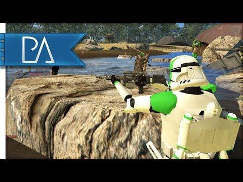 CLONE TROOPERS BATTLE DROIDS - Star Wars - Bear Force II Mod Gameplay