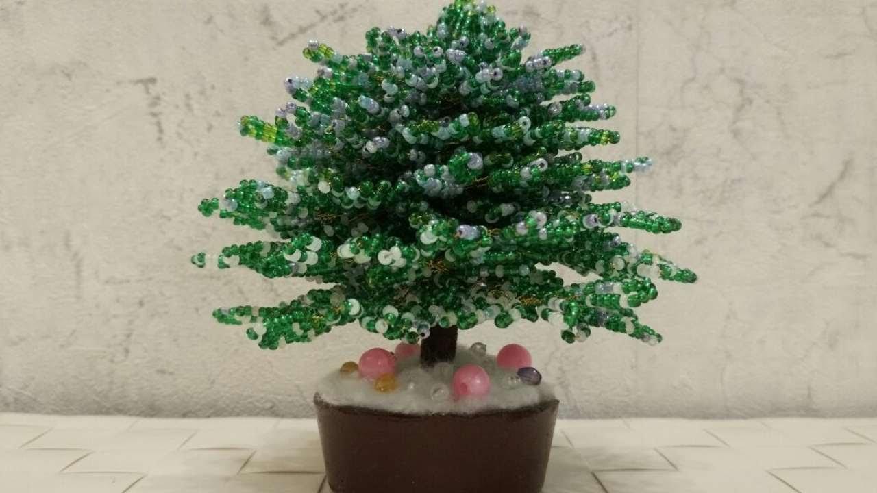 How To Make A Beaded Christmas Tree - DIY Home Tutorial ...