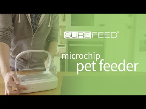 Setting Up The SureFeed Microchip Pet Feeder