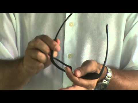a83676fb1b73e7 How to change the lenses in your Ray Ban Daddy-o s - YouTube