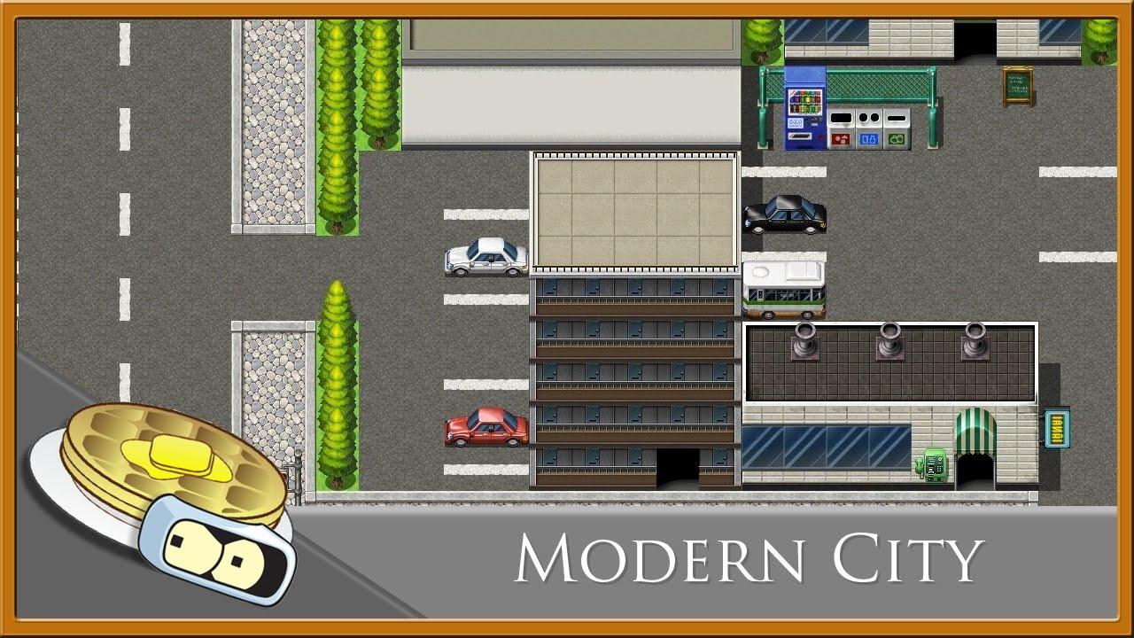 Modern City Speed Development - RPG Maker MV