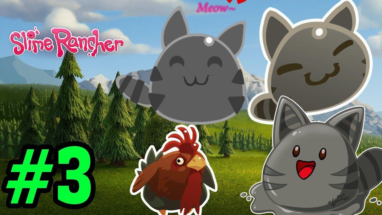 Ăn Trộm Gà Trống Về Cho Slime Mèo Ăn   Slime Rancher #3   Top Game PC, Android, Ios