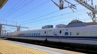 ありがとう700系C54編成浜松駅下りスロー動画