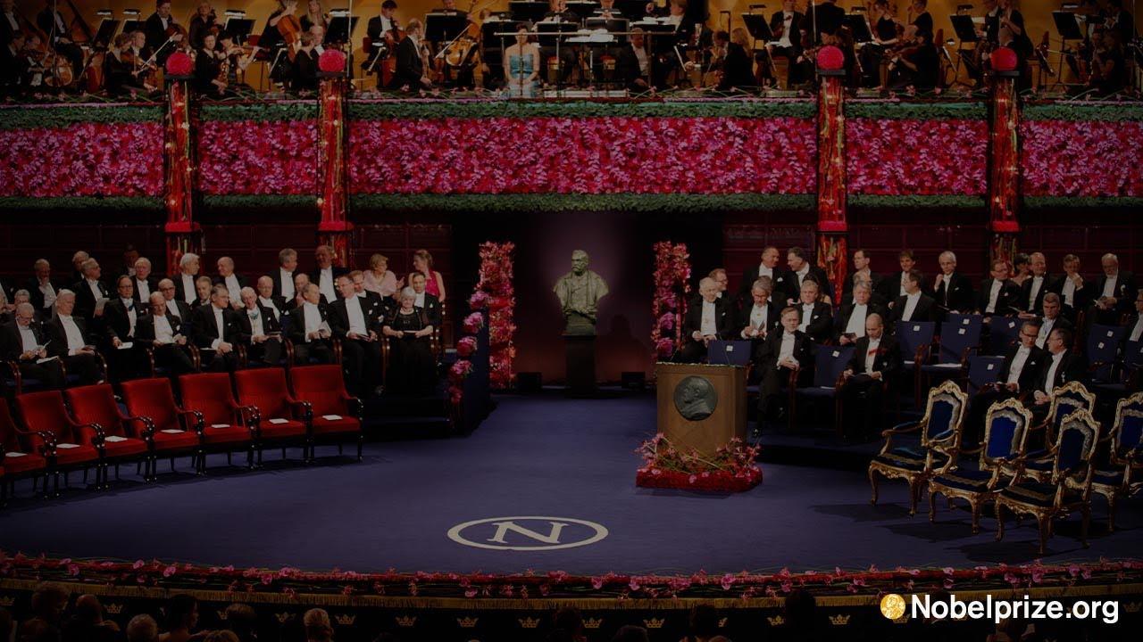 nobel prize award ceremony 2013