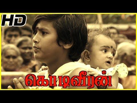 Sasikumar Mother hangs herself   Kodiveeran Scenes   Workers dies as owner sets his cracker factory