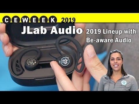 JLab Audio's 4 Newest True Wireless Earbuds @CE Week 2019