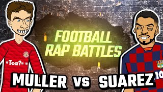 🎙️MÜLLER vs SUAREZ RAP BATTLE🎙️ Football Song - Frontmen Season 1.5