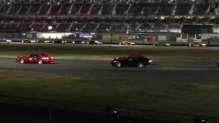 World Record Most Ferraris On Track At Once In Daytona