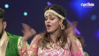 Remya Nambeesan performs during Vanitha Film Awards 2018